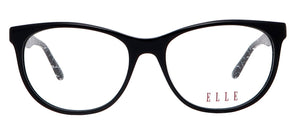 EL13420-BK eyeglasses photography-Straight