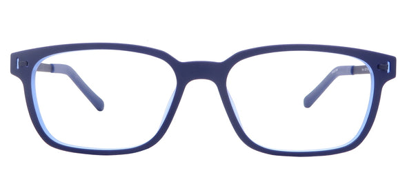 PICTOR-BLUE eyeglasses photography-Front