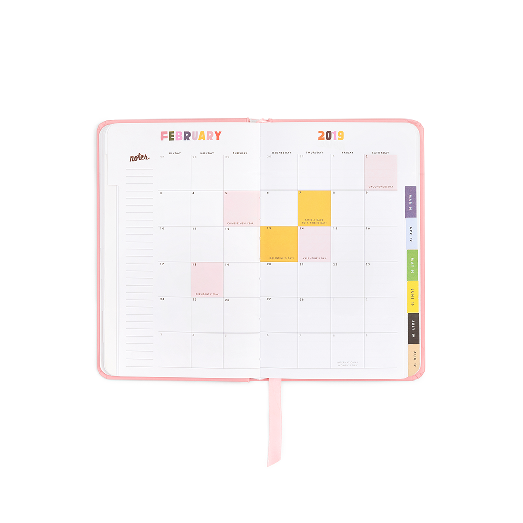 Planner 13-Month Classic [2018/2019] - Going Places