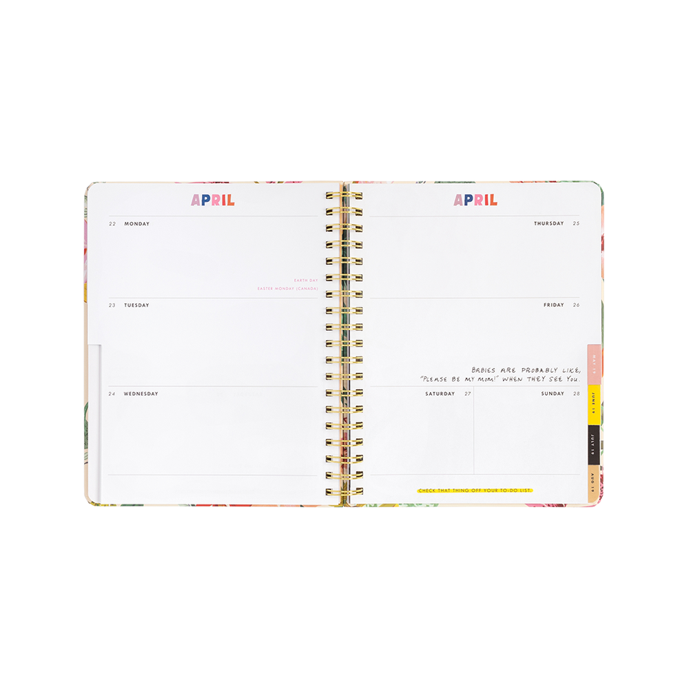 Planner 13-Month Large [2018/2019] - Garden Party