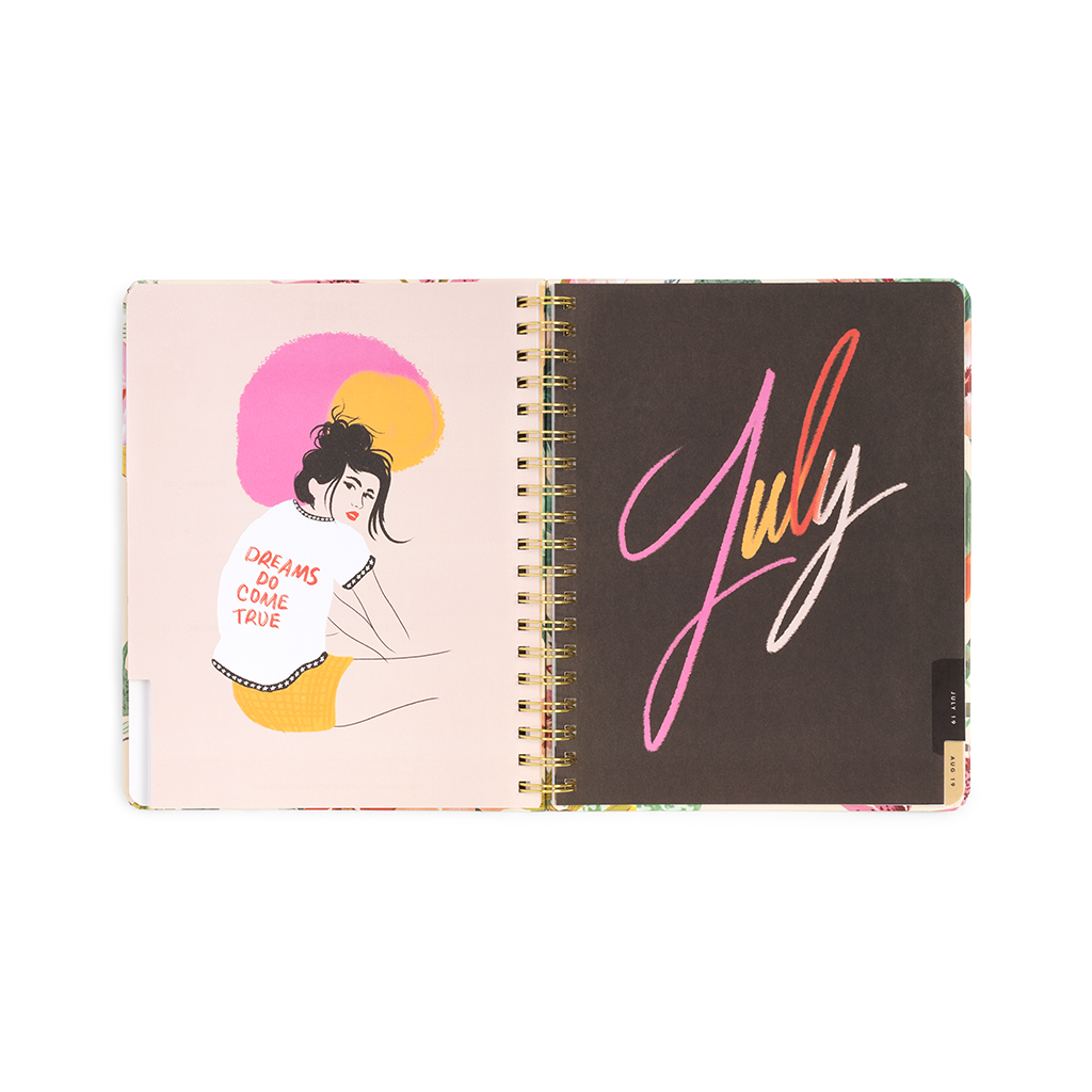 Planner 13-Month Large [2018/2019] - Pearlescent