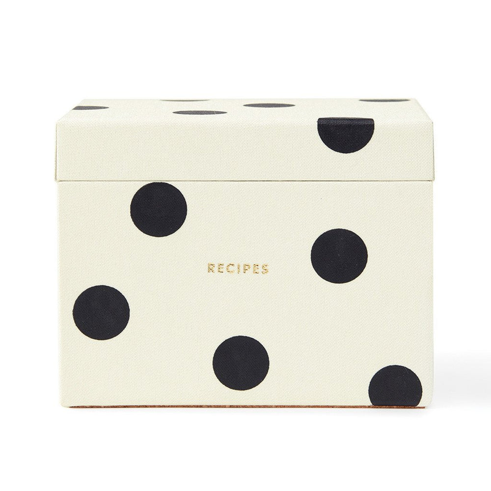 Recipe Box - Bikini Dot