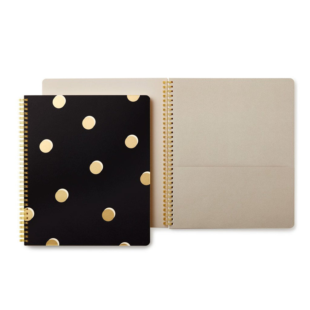Large Spiral Notebook - Scatter Dot