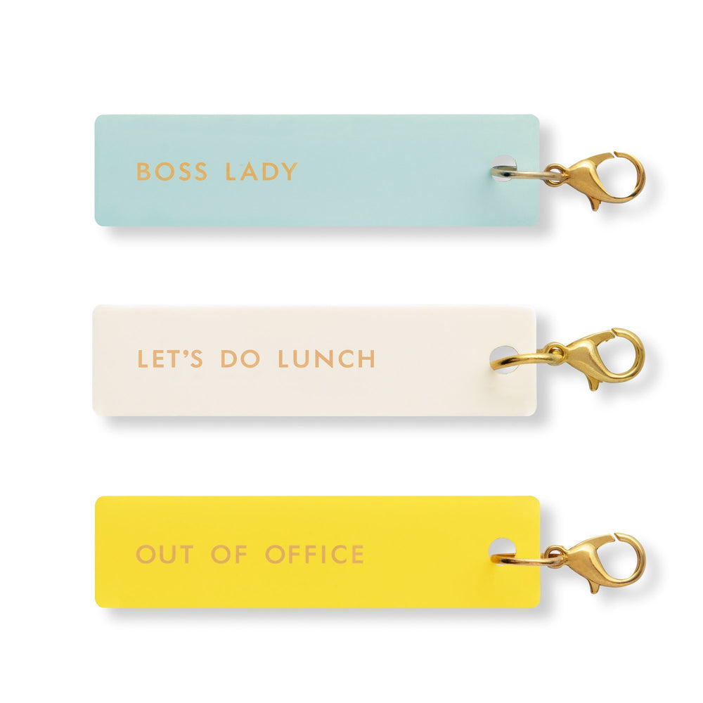 Planner Charm Set - Boss Lady
