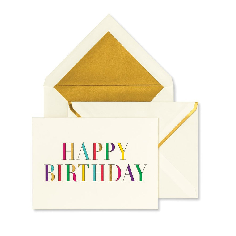Notecard Set - Birthday