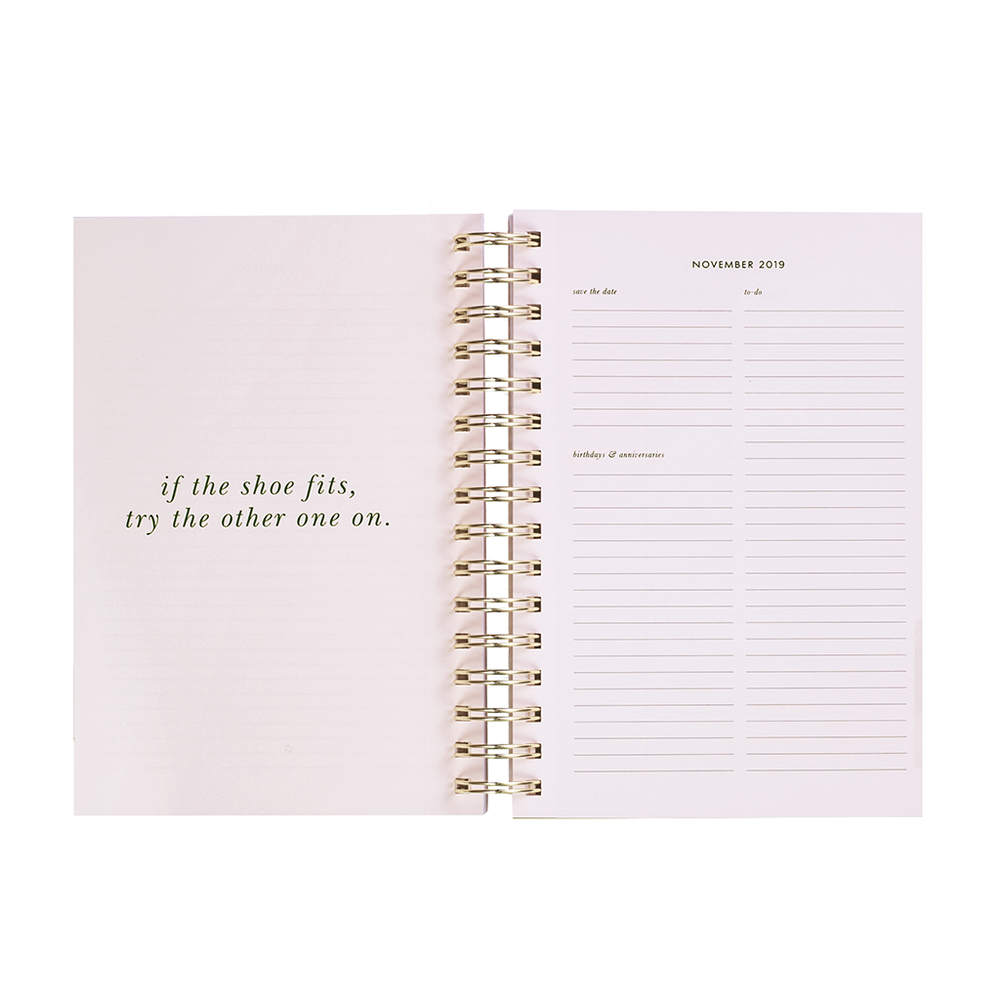 17 Month Planner Large - Geo Spade