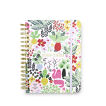 17 Month Planner Large - Garden Posy