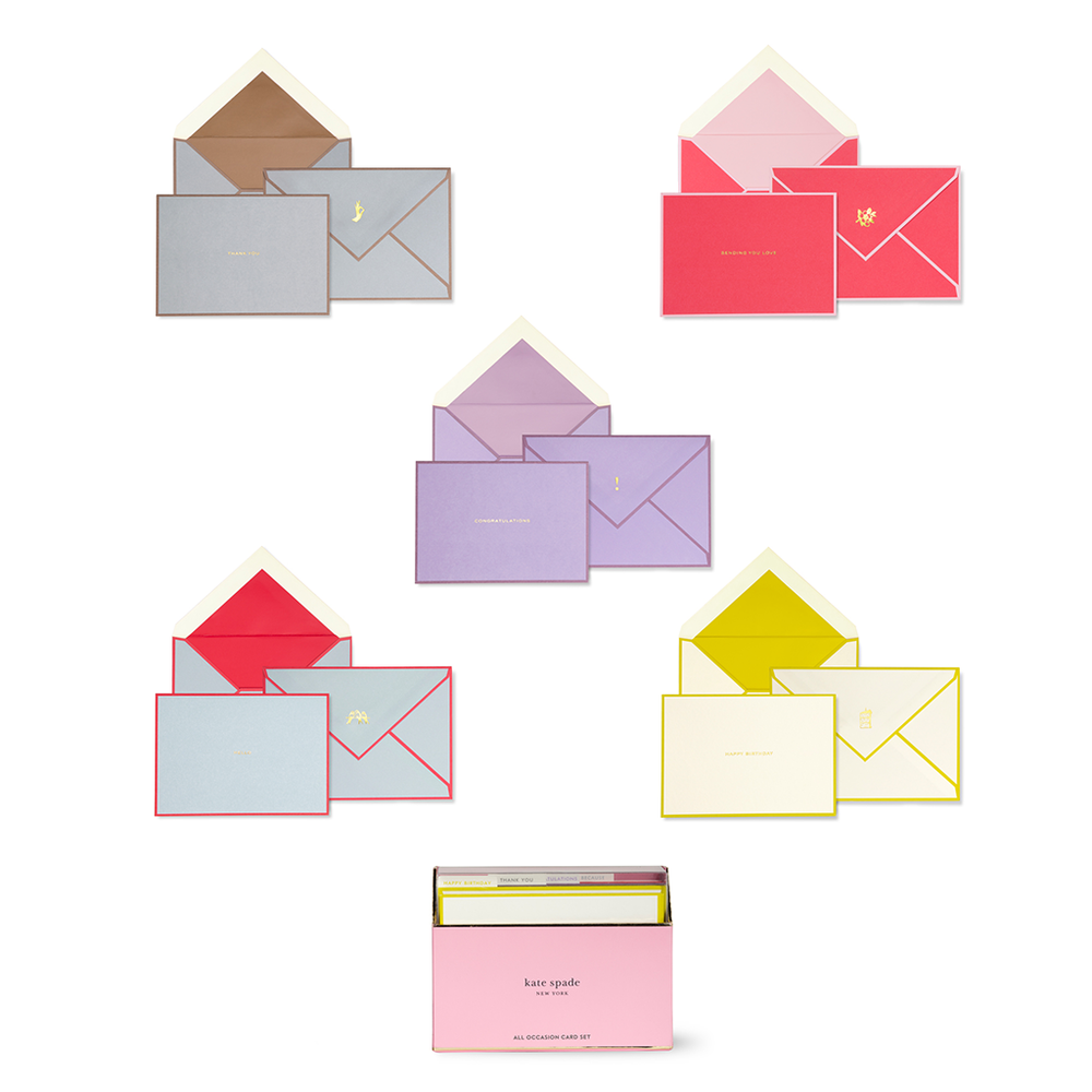 All Occasion Card Set - Colorblock