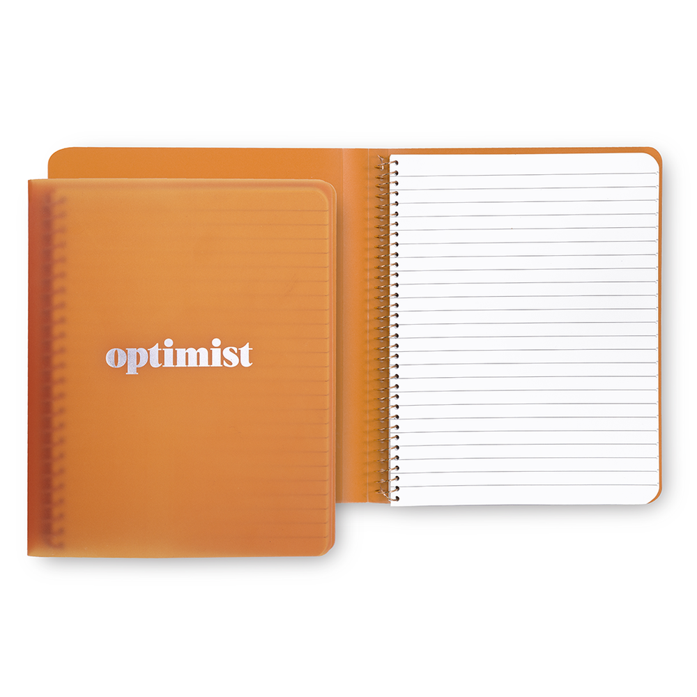 Spiral Notebook (Concealed) - Optimist
