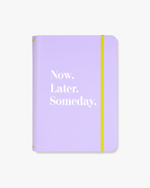 Triple Notebook Folio Set - Now.Later.Someday