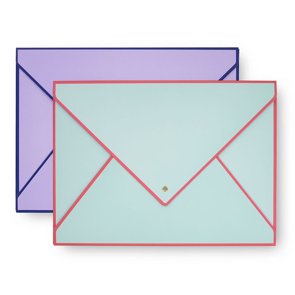 Envelope Folio - Colorblock
