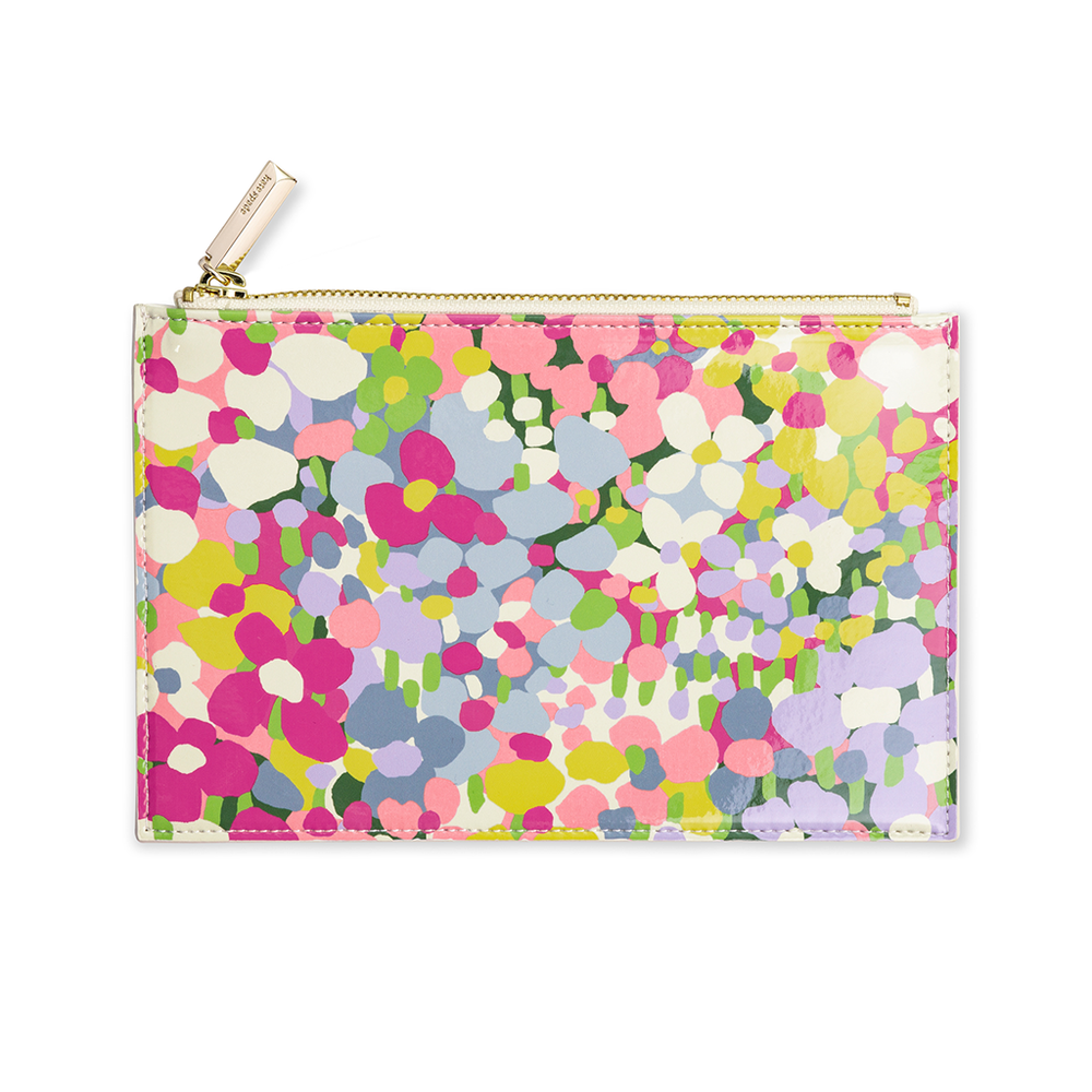 Pencil Pouch - Floral Dot