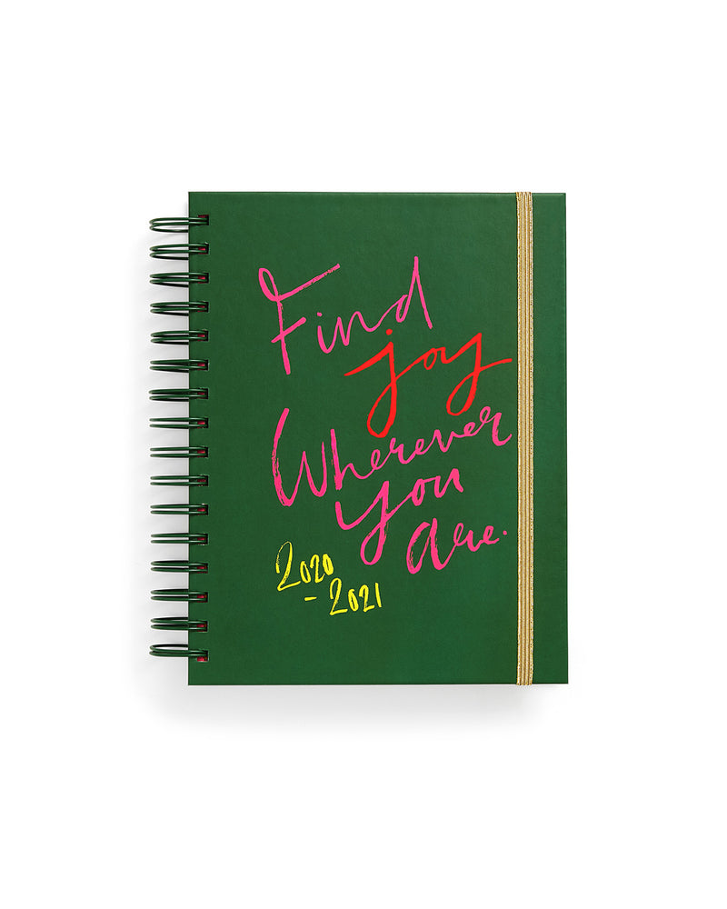 Planner 17-Month [2020/2021] Medium - Find Joy