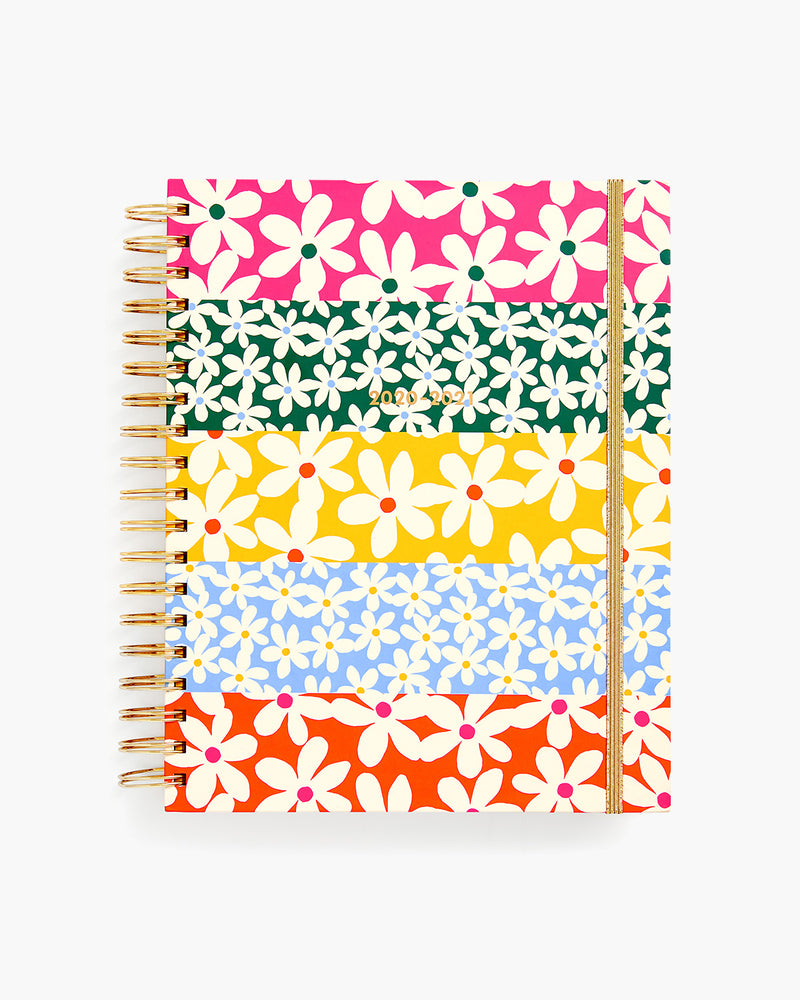 Planner 17-Month [2020/2021] Large - Daisies