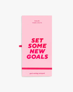 Good Intentions Goal Tracker - New Goals