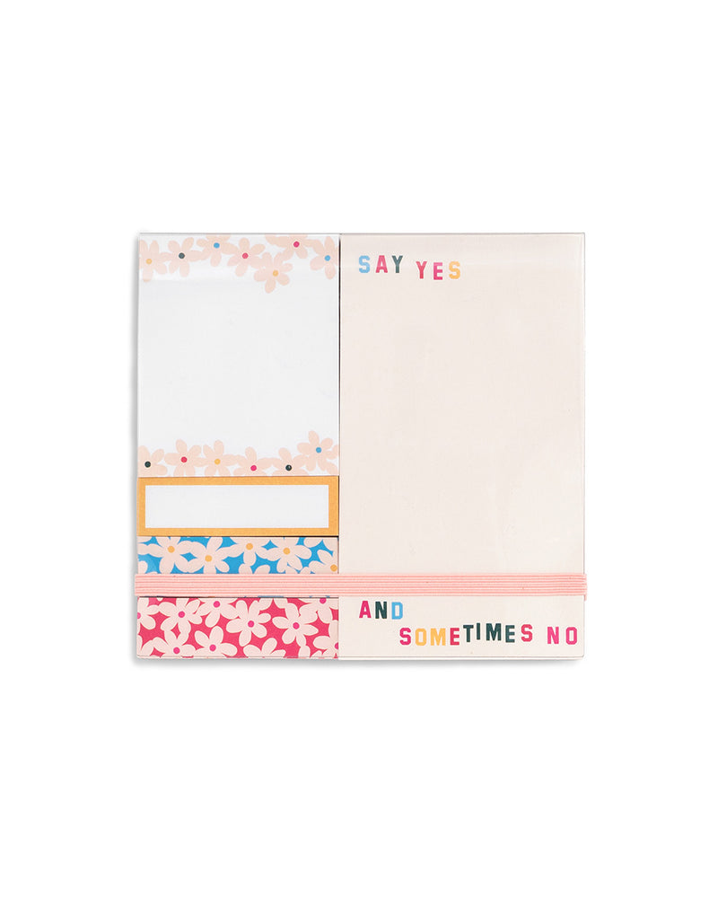 Sticky Note Set - Daisies