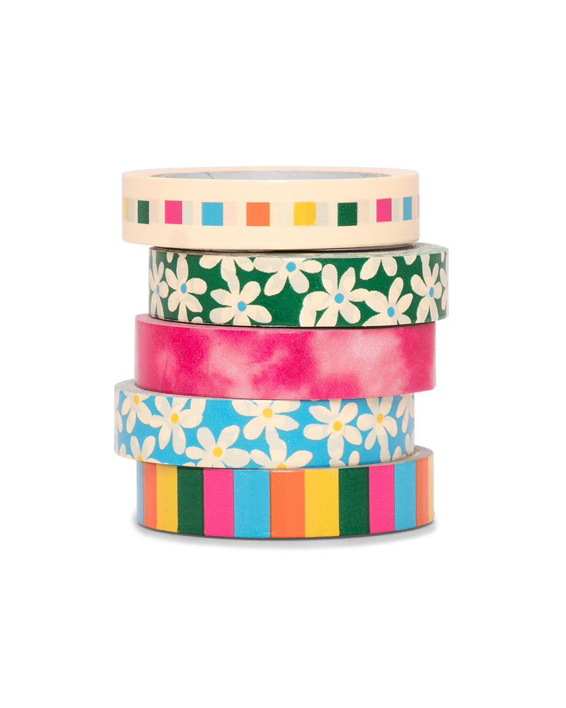 Stick With It Paper Tape Set - Mega Pack Daisies