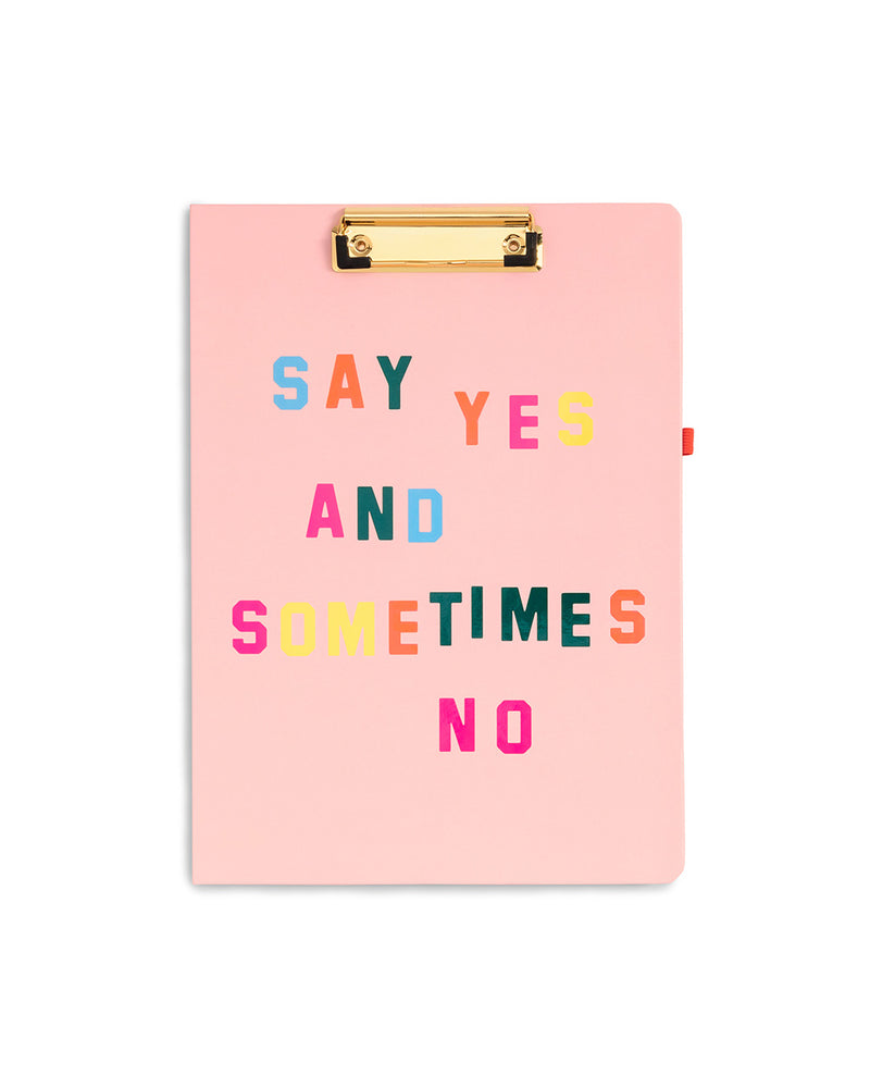 Get It Together Clipboard Folio - Say Yes