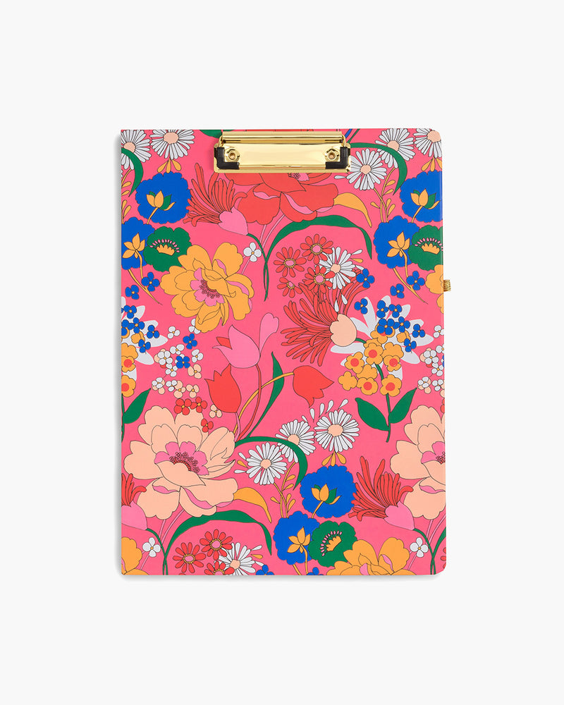Get It Together Clipboard Folio - Pink Super Bloom