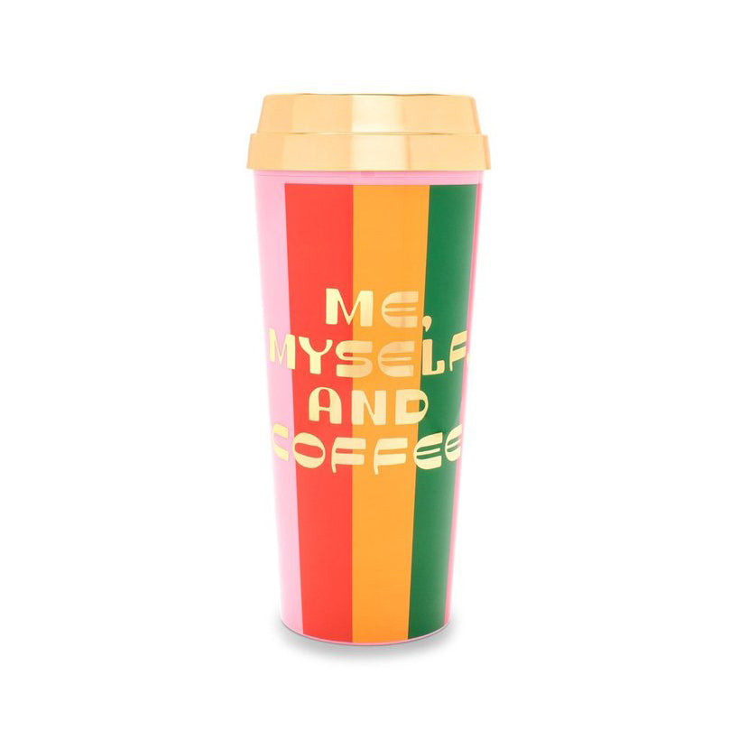 Hot Stuff Thermal Mug - Me, Myself and Coffee