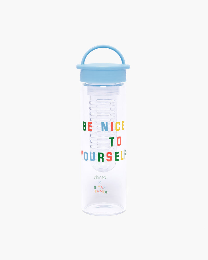 Brighten Up Water Bottle - Be Nice To Yourself