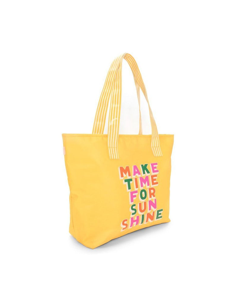 Just Chill Out Cooler Bag - Make Time For Sunshine