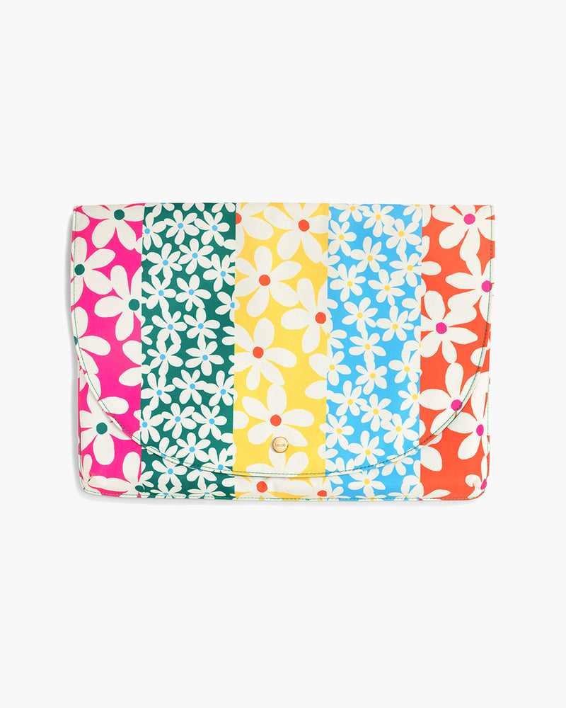 Logged On Laptop Sleeve - Daisies