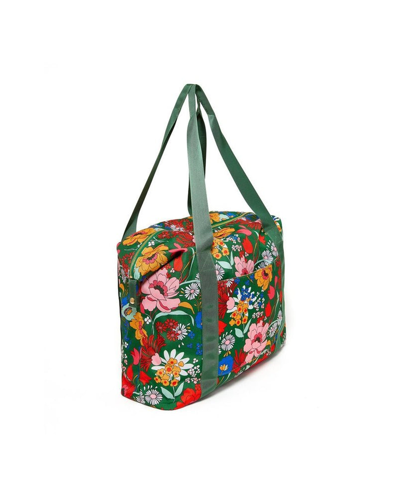 The Getaway Weekender Bag - Emerald Super Bloom