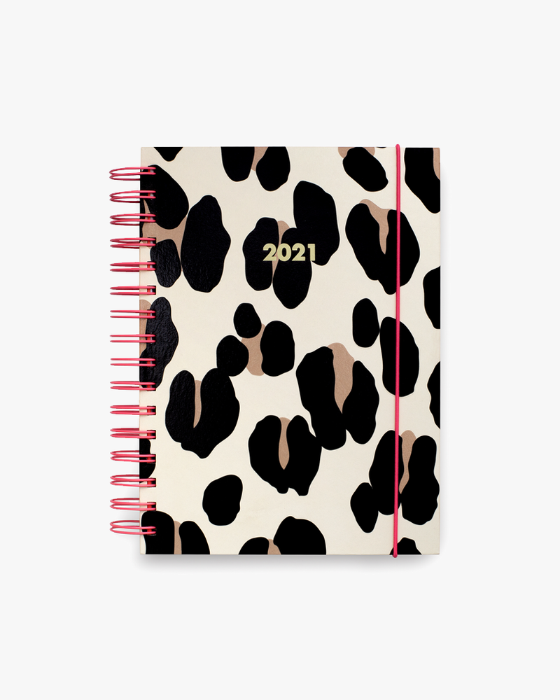 12 Month Large Planner - Forest Feline