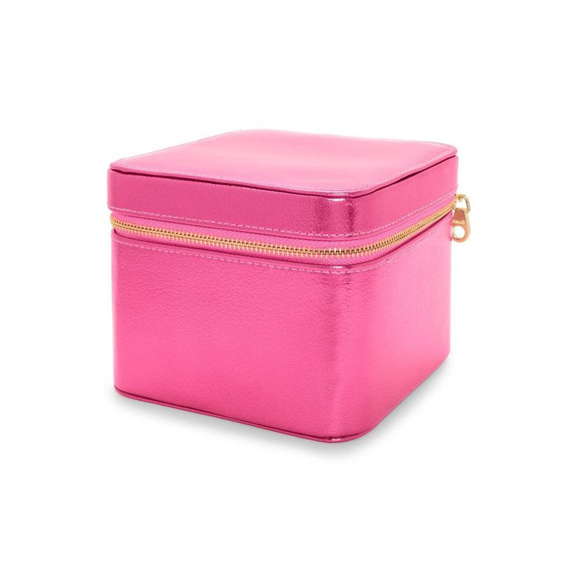 The Getaway Jewelry Organizer - Metallic Hot Pink