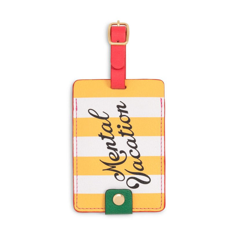 The Getaway Luggage Tag - Mental Vacation