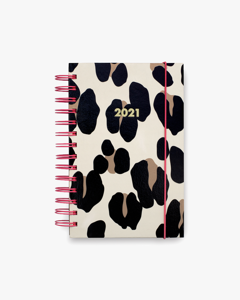 12 Month Medium Planner - Forest Feline