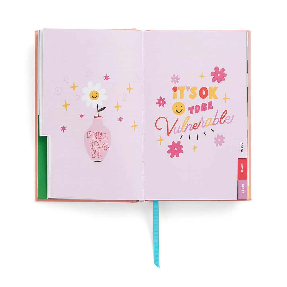 Planner 17-Month [2020/2021] Classic - Daisies
