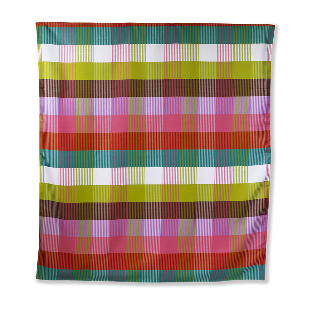 Picnic Blanket - Rainbow Plaid