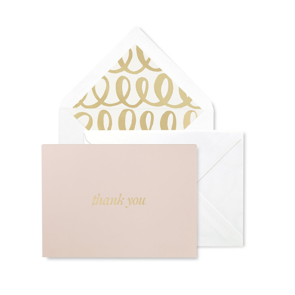 Thank You Notecard Set - Heart Knot
