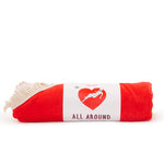All Around Giant Heart Towel