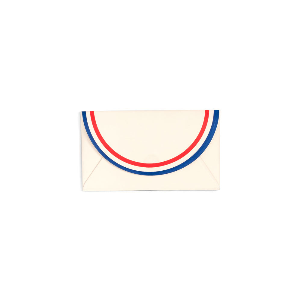 All Business Card Holder - Parisian Stripes