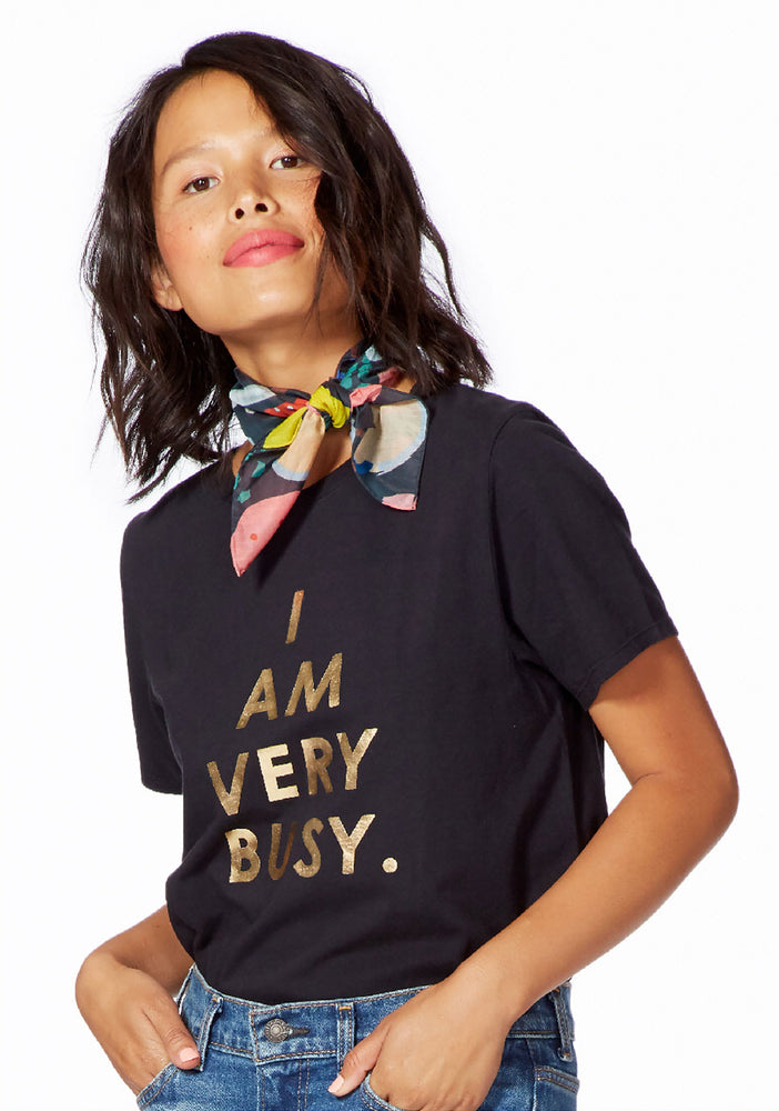 Classic Tee - I Am Very Busy (Black)