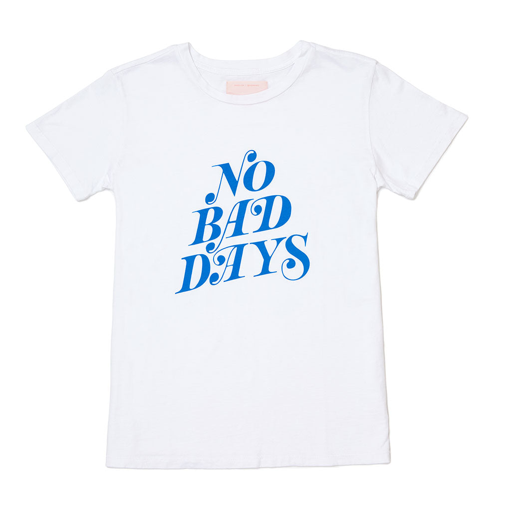 Classic Tee - No Bad Days (Ivory)
