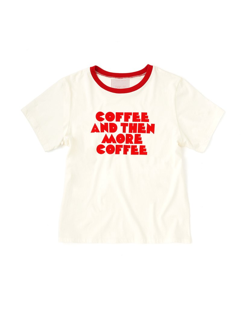 Ringer Tee - More Coffee