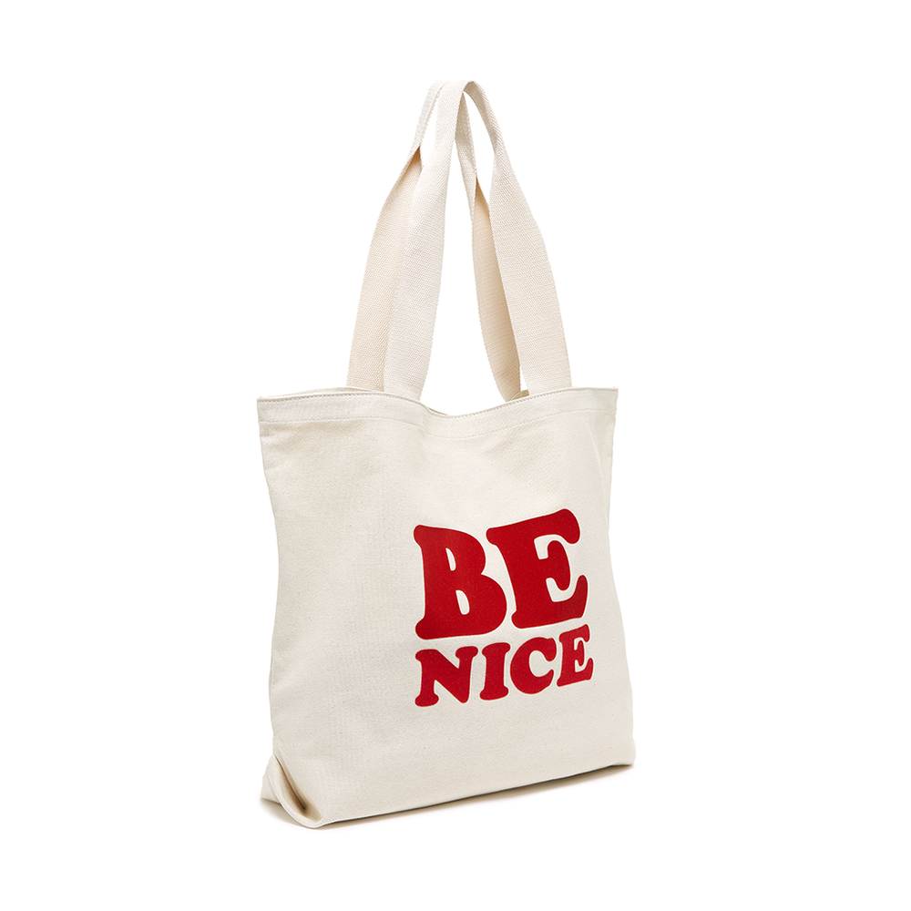 Canvas Tote - Be Nice