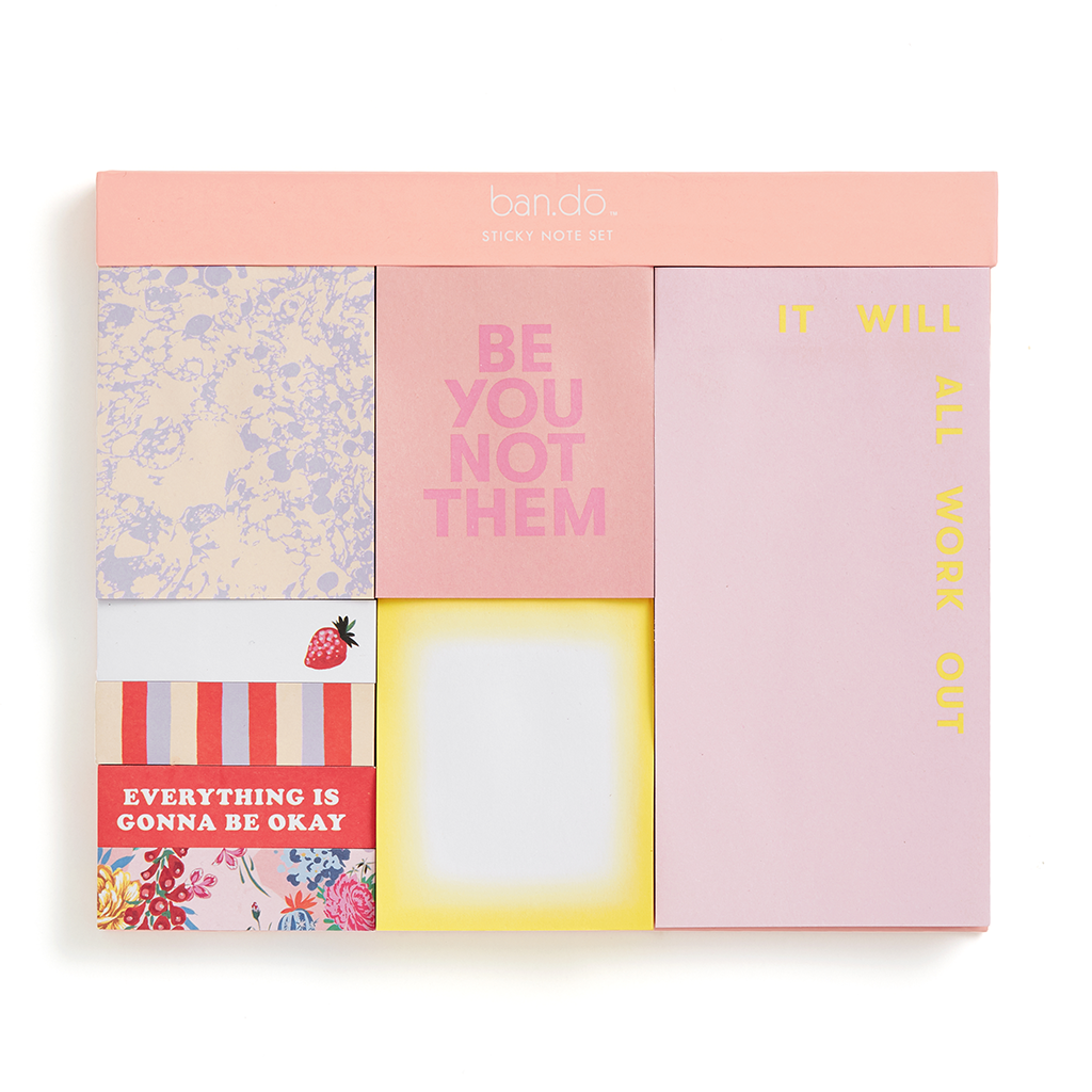 Sticky Note Set - Be You Not Them