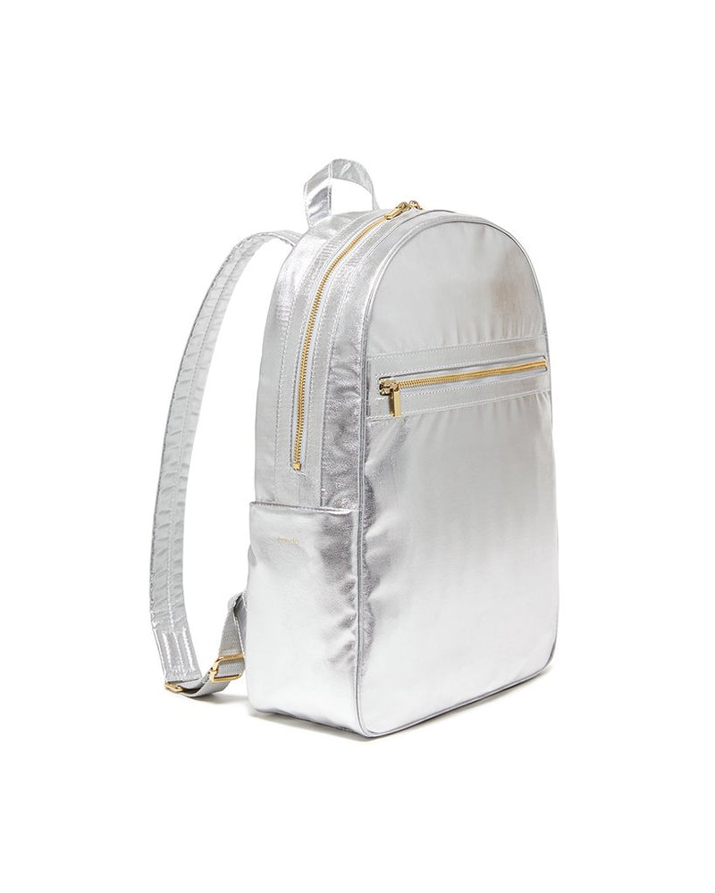 Get It Together Backpack - Metallic Silver