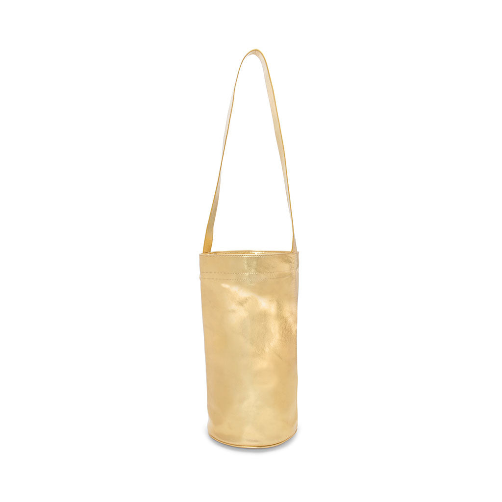 Work It Out Exercise Mat Bag - Metallic Gold