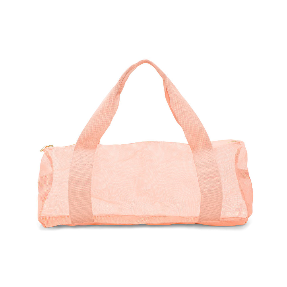 Work It Out Gym Bag - Mesh Pink