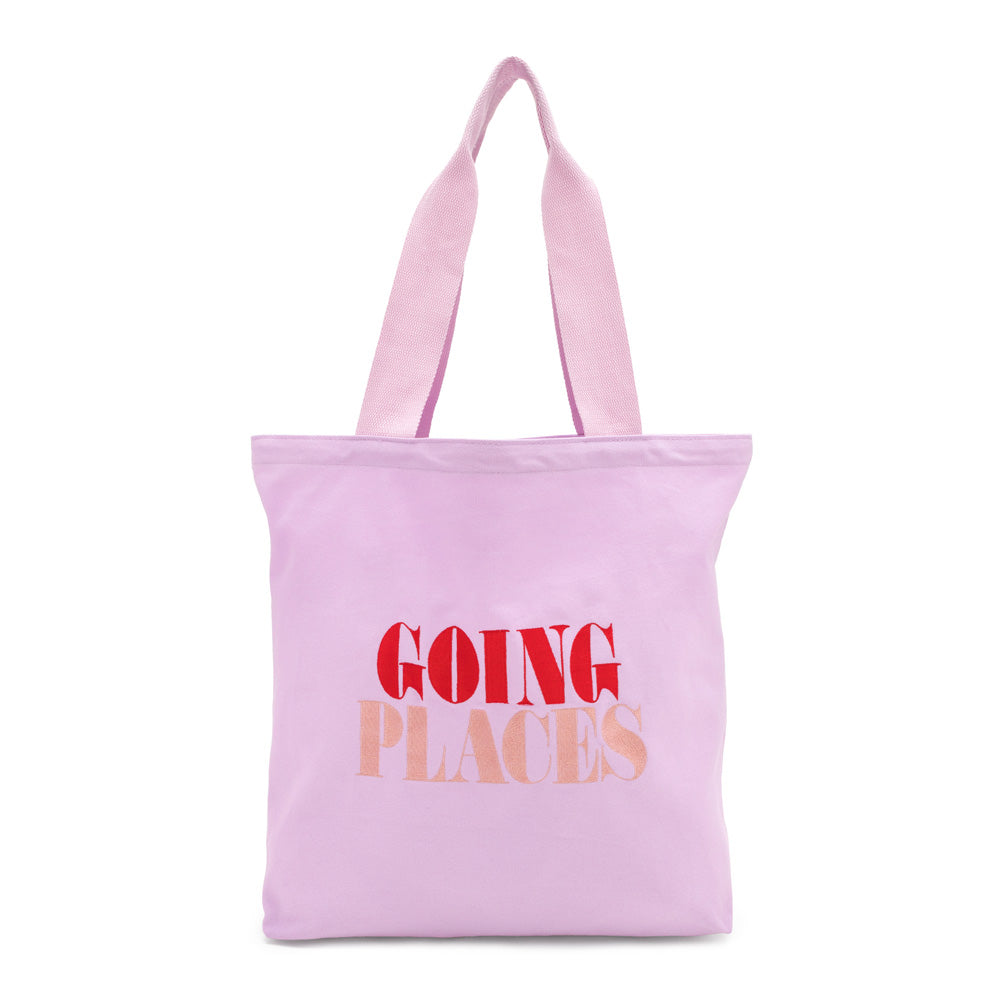 Canvas Tote - Going Places