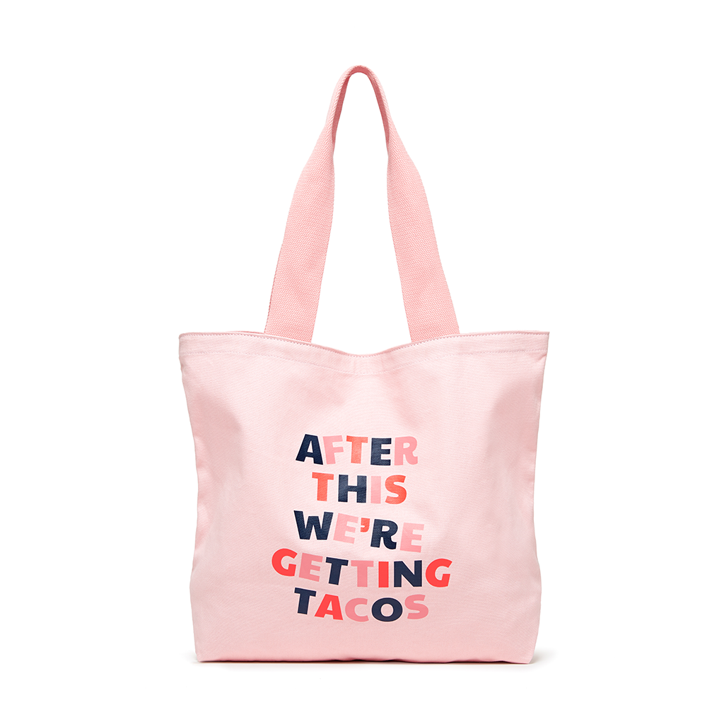 Canvas Tote - After This We're Getting Tacos