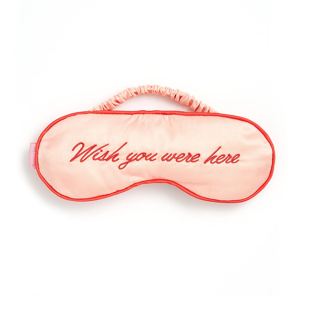 The Getaway Eye Mask - Wish You Were Here