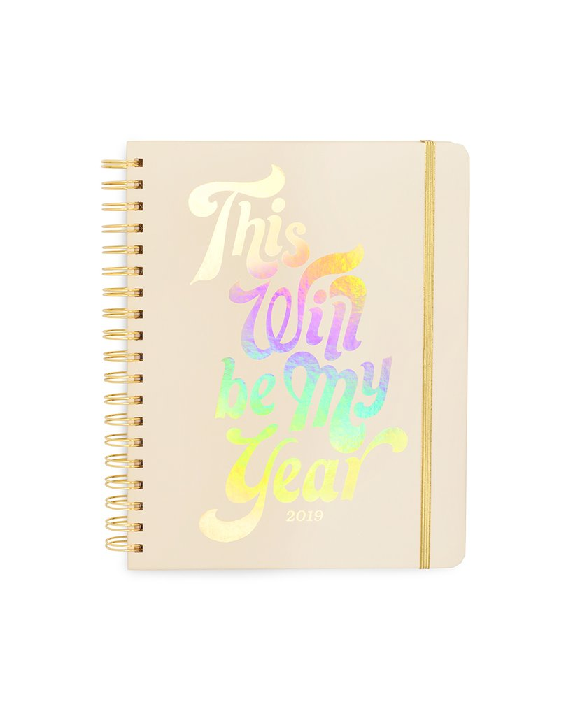 Planner 12-Month Large [2019 ANNUAL] - This Will Be My Year