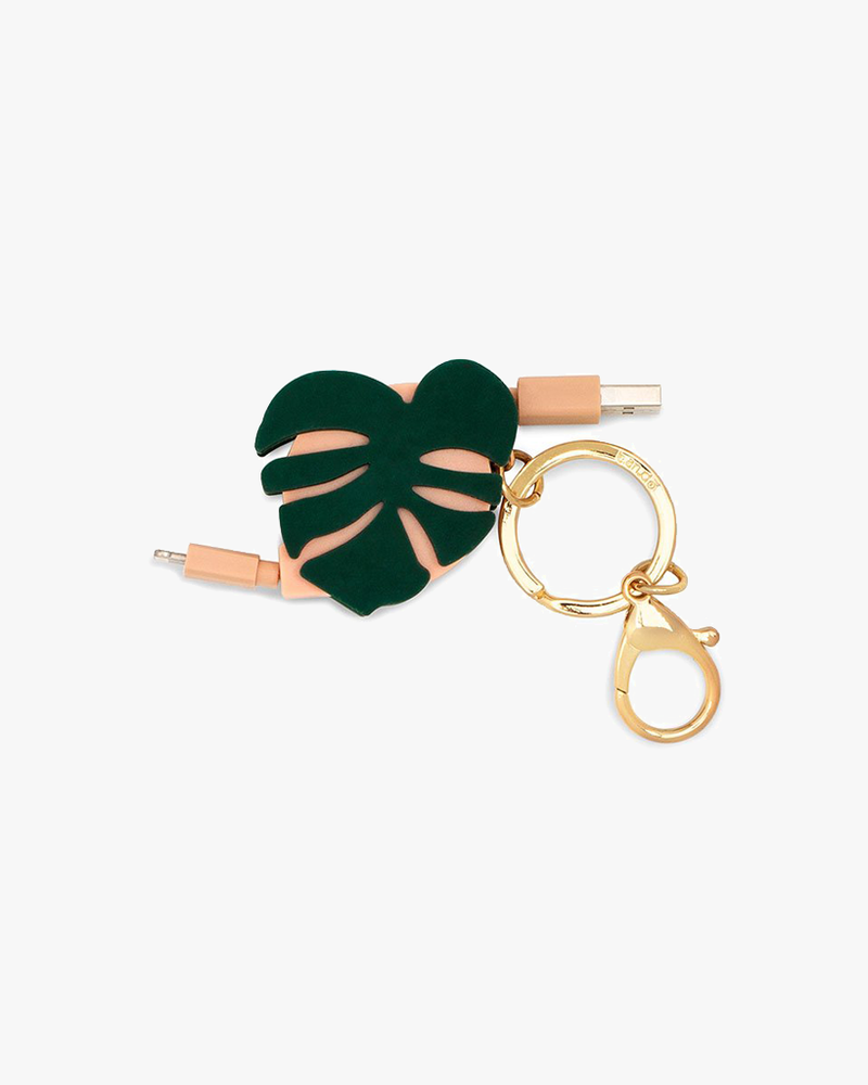 Retractable Charging Cord - Monstera